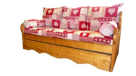banquette lit gigogne montagne. Black Bedroom Furniture Sets. Home Design Ideas